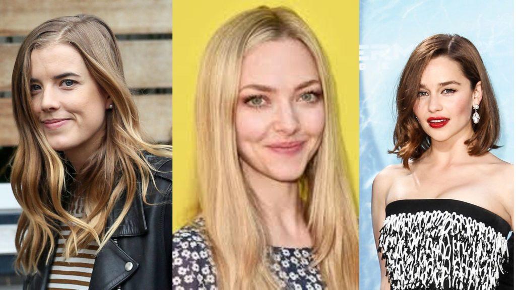 Mr. Franco's girlfriends Agyness Deyn , Amanda Seyfried & Emilia Clarke