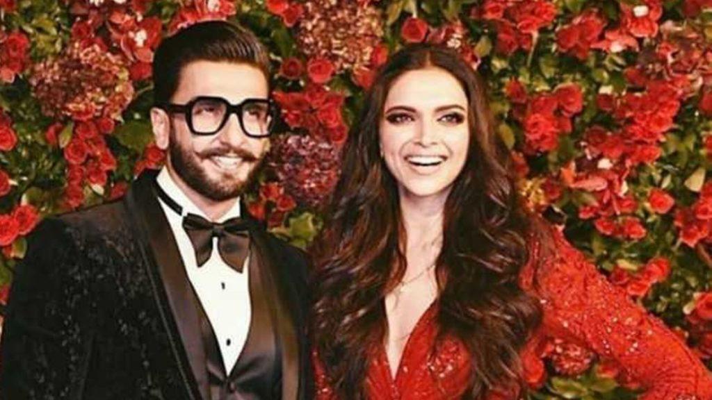 Deepika With husband Ranveer Singh