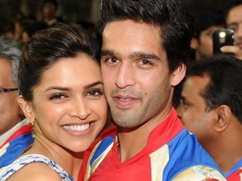 Deepika Padukone with her boyfriend Siddharth Mallya