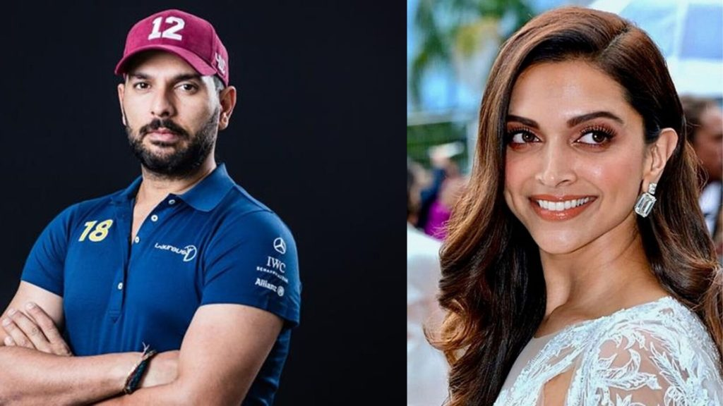 When Deepika dated Yuvraj Singh (Crickter)