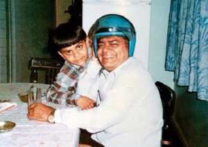 Father Prem Kohli with his son virat kohli