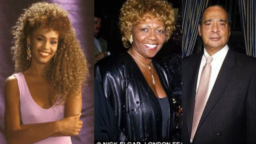 Whitney Houston Parents Russell Houston (father) and mother Cissy Houston.