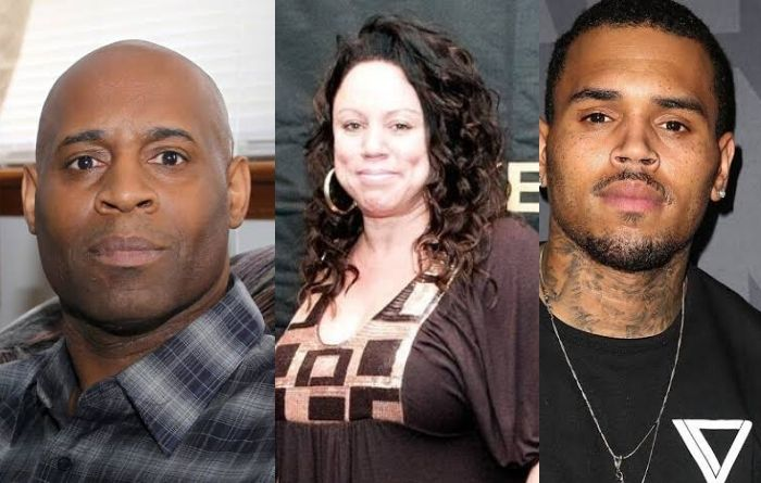 Chris Brown's Mother Joyce Hawkins and father Clinton Brown