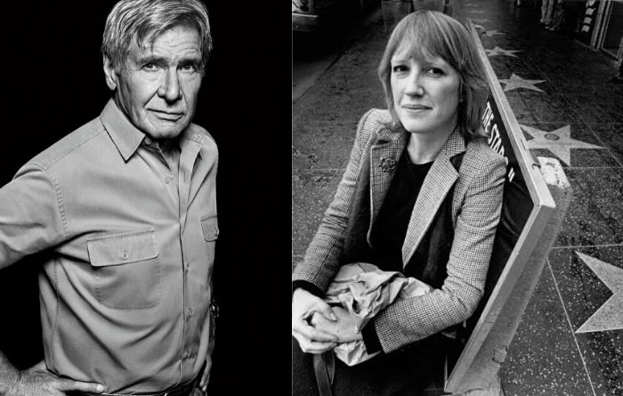 Harrison ford with Eve Babitz