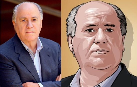 Amancio Ortega World's 7th Richest Spanish businessman and founder of Inditex fashion group (Zara).
