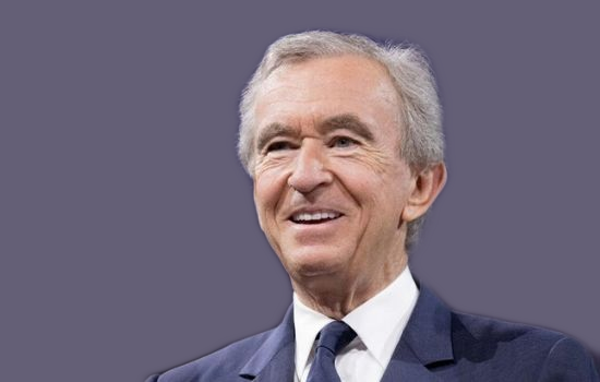 World's Third  Richest business magnate Bernard Arnault.