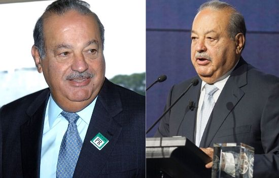 Mexican business magnate Carlos Slim the richest person in Mexico.