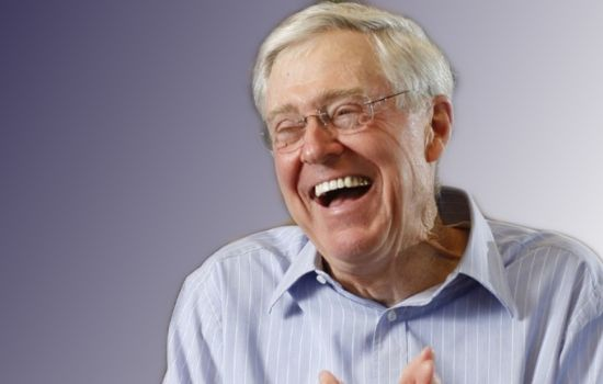 Charles Koch Chief Executive Officer of Koch Industries is the World's 18th Richest an American businessman.