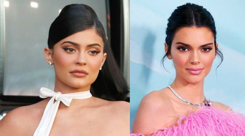 Caitlyn Jenner's Daughters Kylie (left) and  kendall jenner from Kris Kardashian