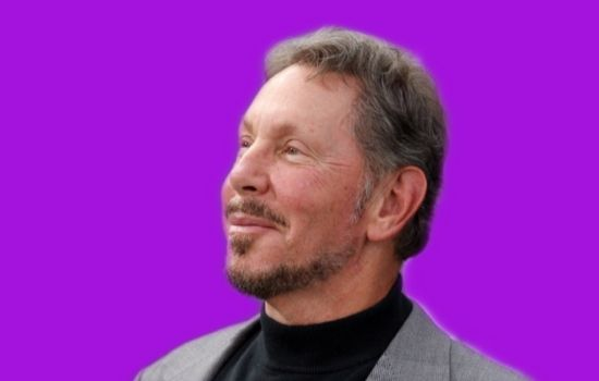 Larry Ellison World's 6th Richest American businessman entrepreneur and co-founder of Oracle Corporation.