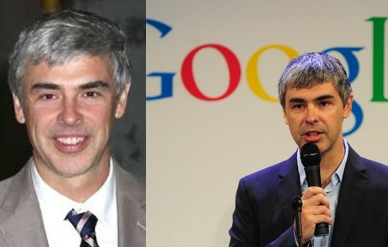 Co-Founders of Google Larry Page World's 10th Richest American computer scientist and Internet entrepreneur.