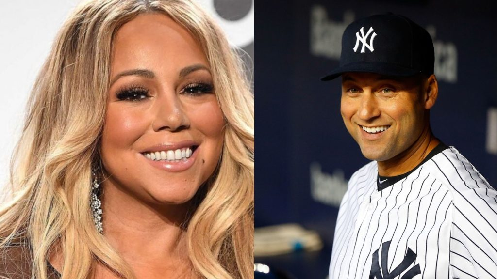 Derek Jeter's ex-girlfriend Mariah Carey.