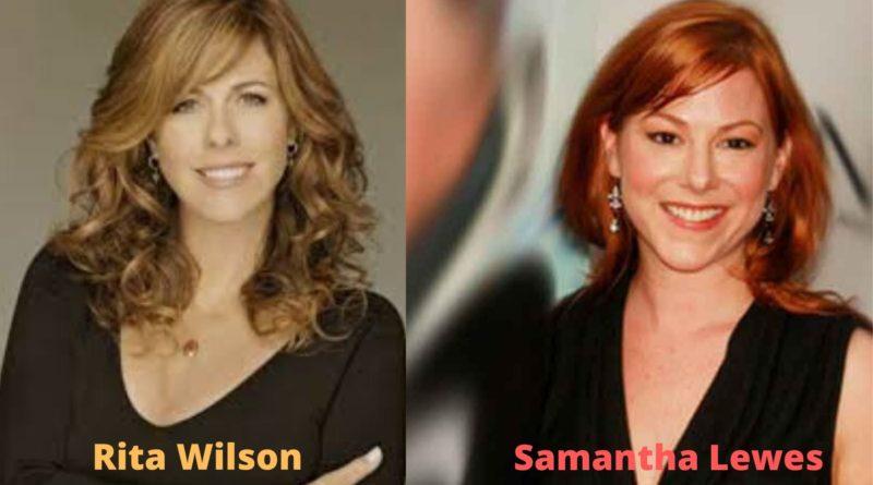 Actor Tom Hanks' wife Samantha Lewes and Tita wilson