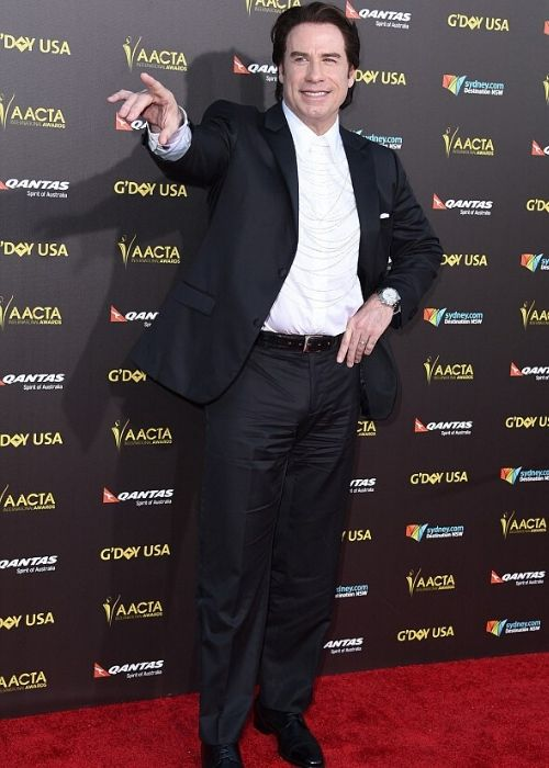 How tall is John Travolta ?  Discover more Celebrity Heights.