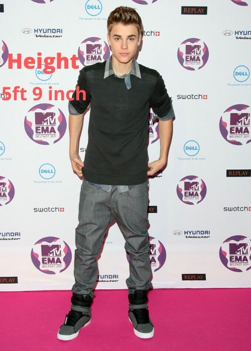 How tall is Justin Bieber? Discover more Celebrity Heights.