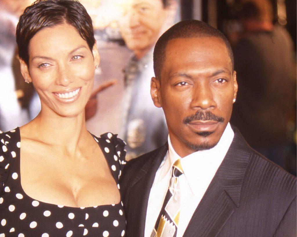 In March 1993, Eddie Murphy got married with Nicole Mitchell at the Grand Ballroom of The Plaza Hotel in New York City.