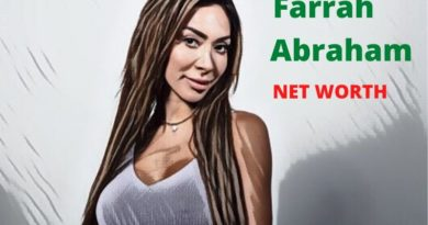 Farrah Abraham's Net Worth 2020 - Celebrity News, Net Worth, Age, Height, Instagram, Husband & Boyfriends