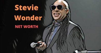 Stevie Wonder's Net Worth 2021 - Celebrity News, Net Worth, Age, Height, Wife, Children, Girlfriends