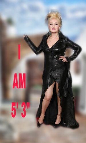 know the physical appearance, height, and weight of Cyndi Lauper.