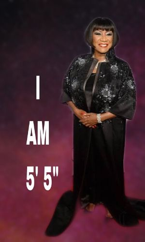know the physical appearance, height, and weight of Patti LaBelle.