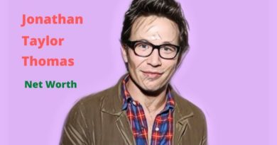 Jonathan Taylor Thomas' Net Worth in 2020 - How Jonathan Taylor Maintains His Worth?