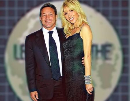 Jordan Belfort's girlfriend Anne Koppe the couple got engaged in 2015.