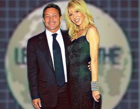 Jordan Belfort's girlfriend Anne Koppe the couple got engaged in 2015.