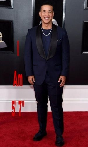How tall is Daddy Yankee?