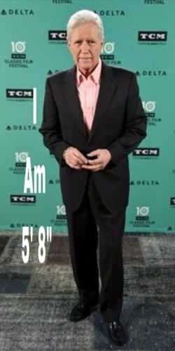 Alex Trebek's Height - How tall is he?