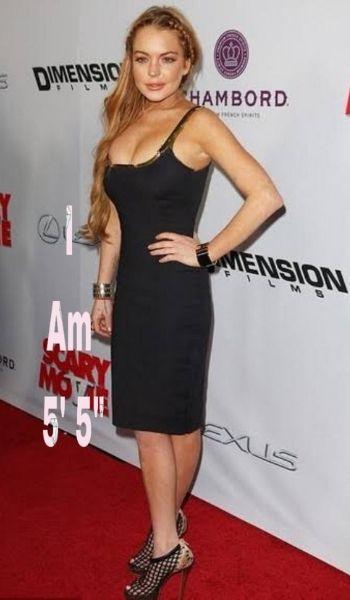 Lindsay Lohan's Height - How tall is she?