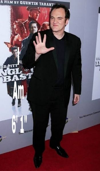 Quentin Tarantino's Height - How tall is he?