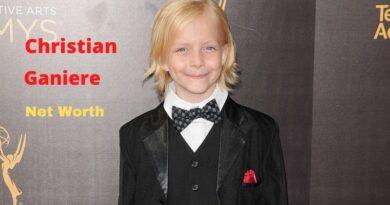Christian Ganiere's Net Worth 2020: Age, Height, Bio