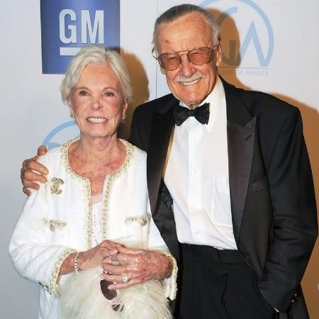Stan Lee's wife Joan Boocock Lee died in 2017.