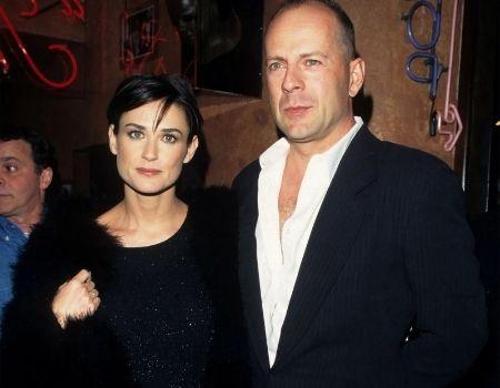 Demi Moore ex-husband Bruce Willis