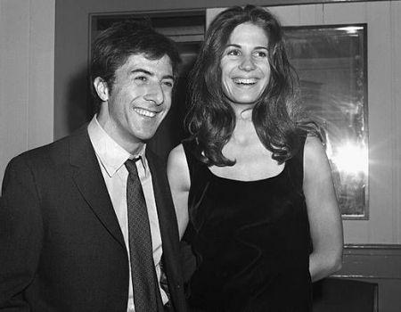 Anne Byrne Dustin Hoffman's EX-Wife.