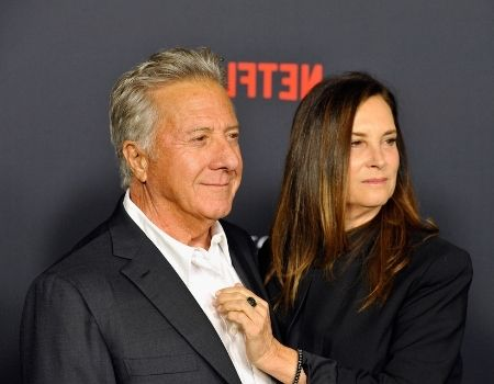 Lisa Hoffman Dustin Hoffman's Wife