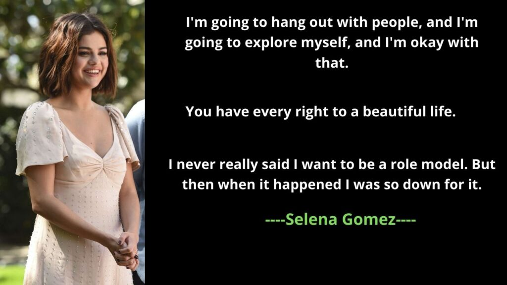Selena Gomez's Inspirational Quotes on Being Confident and Grateful