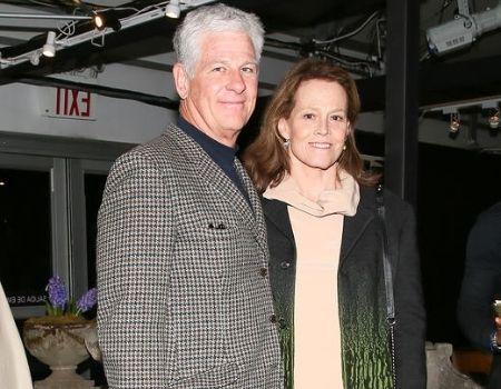 Jim Simpson Sigourney Weaver's husband