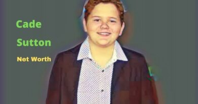 Cade Sutton's Net Worth in 2021 - How did TV Actor Cade Sutton earn his Net Worth?