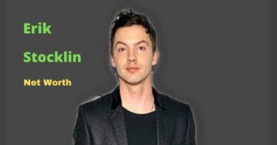 Erik Stocklin's Net Worth in 2020-2021 - How did Choreographer Erik Stocklin earn his Net Worth?