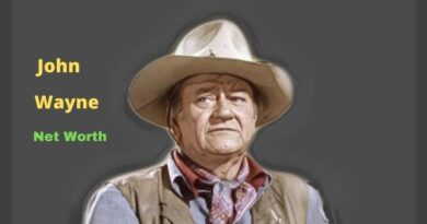 John Wayne's Net Worth in 2021 - How did filmmaker John Wayne earn his Net Worth?