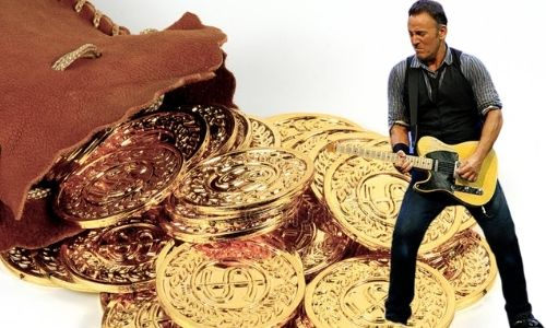 What is Bruce Springsteen's Net Worth in 2021 and how does he make his money?