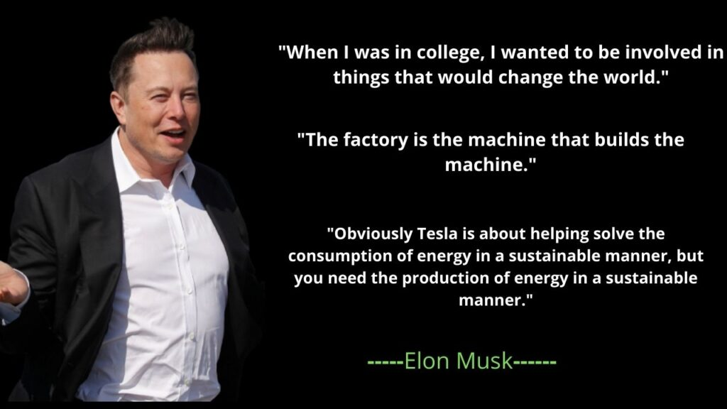 Elon Musk's famous quotes