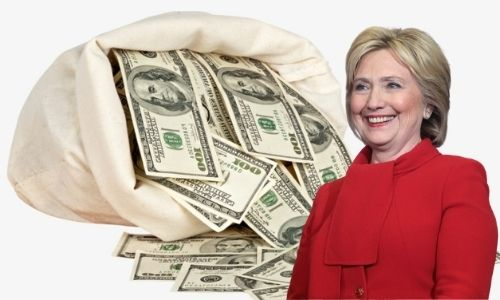 What is Hillary Clinton's Net Worth in 2021 and how does she make her money?