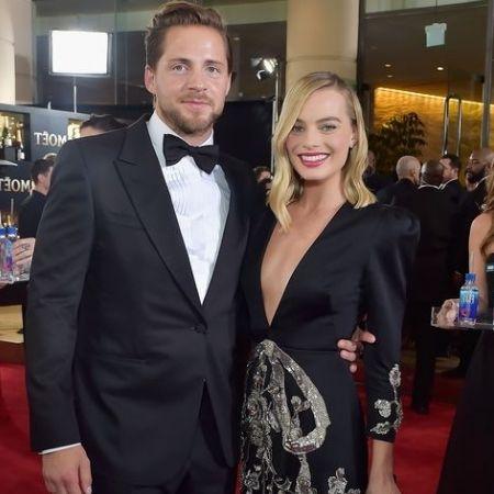 Margot Robbie is married to British Assitant Director Tom Ackerley.