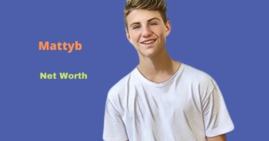 Mattyb's Net Worth in 2021 - How did youTuber Mattyb earn his Net Worth?