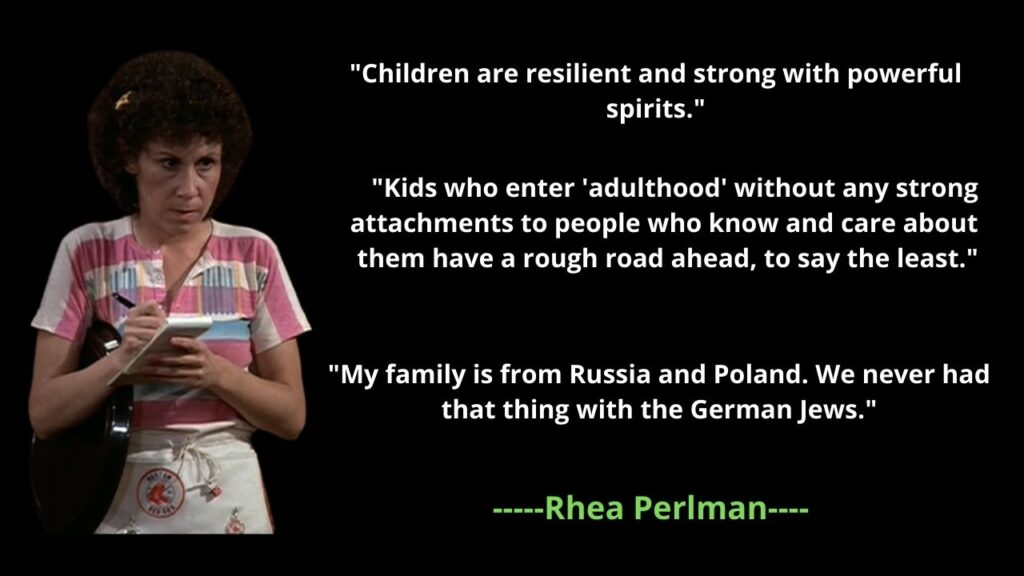 Rhea Perlman's Net Worth 2021: Age, Height, Bio, Husband, Children, Quotes
