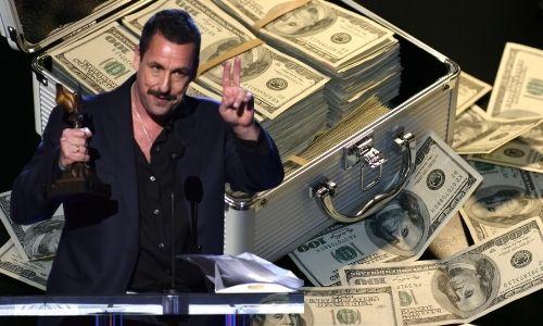 How much Adan Sandler Earning from Netflix Deal