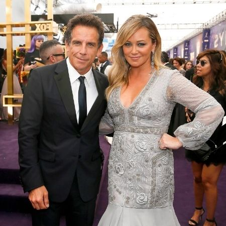 Christine Taylor, the ex-wife of actor and comedian Ben Stiller.