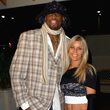 Michelle Moyer , the ex-wife of Professional Basketball Player  Dennis Rodman.
